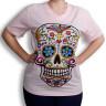 Camiseta para sublimación tacto algodón colores pastel - Color Rosa