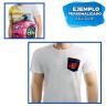 Camiseta Pocket para sublimación con bolsillo - Personalizada - Sublimación y transfer