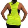 Camiseta Unisex fluorescente de Tirantes 100% Poliéster - Detalle modelo reverso
