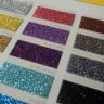 Carta de colores para vinilos Glitter y Pearl Glitter - Detalle