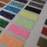 Carta de colores para vinilos Glitter y Pearl Glitter - Detalle Neón