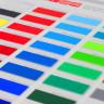 Carta de colores de vinilo para rotulación Kemica serie Tec Mark - Muestras
