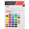 Carta de colores de vinilo para rotulación Kemica serie Tec Mark - 3000 Gloss