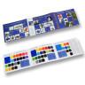 Carta de colores fieltros, lonetas y espuma 3D - Exterior e interior