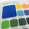 Carta de colores fieltros, lonetas y espuma 3D - Detalle Lonetas