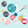 Chapas para Button Press de We R - Ejemplo de personalización