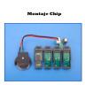 Chips para CISS Epson WF-7210dtw - Pack de 4 uds CMYK- Montaje