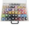 Colección de hilos PB40 1000m 48 colores - Detalle hilos superior