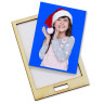 Colgante bola de nieve para árbol de Navidad serie Hessa - Soporte del portafotos
