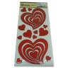 Corazones adhesivos de decoración - Paquete