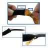 Cordón de neopreno para gafas - Pack de 10 uds - Detalles uso