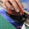 Cuchilla de recambio de titanio para regla guía - Uso en regla guía