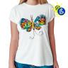 Diseño transfer Solar Butterfly - Ejemplo de personalización