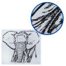 Diseño transfer Solar Elefante  - Textura