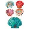 Diseño Transfer Conchas de colores - Pack 3 uds