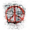 Diseño Transfer Graffiti Paz pack 4 uds