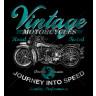 Diseño Transfer Moto Vintage pack 4 uds