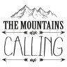 Diseño transfer Mountains calling - Pack 4 uds