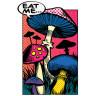 Diseño Transfer Mushrooms comic - Sin fondo