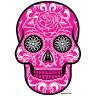 Diseño Transfer Pink Sugar Skull - Sin fondo