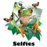 Diseño Transfer Tree Frog Selfie - Sin fondo