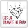 Etiquetas adhesivas Diamante
