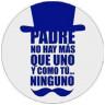 Etiquetas adhesivas Padre Sombrero