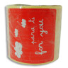 Etiquetas adhesivas Para ti - Rollo de 125 uds