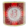 Etiquetas adhesivas Bon Nadal - Rollo de 125 uds