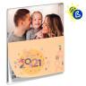 Faldilla calendario mensual 2021 - Ejemplo de personalización