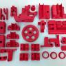 Filamentos ABS Colores - Ejemplo de uso