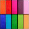 Fundas de tejido felpa para cojines con reverso de color - Tejidos colores reverso