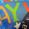 Fundas preimpresas Día del padre para cojín de 38 x 38 cm - Detalle tejido delantero