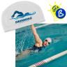 Gorro para sublimación de natación talla única - Ejemplo de personalización y uso