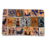 Imán cerámica rectangular