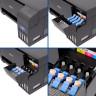 Pack sublimación impresora Epson ET-2711 A4 Flúor - Depósitos de tinta de la impresora