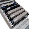 Impresora láser A3 tóner blanco Uninet iColor 600 - detalle de toners