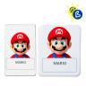 Juego ¿Quién es? personalizable por sublimación - Ejemplo personalización ficha y tarjeta de personaje
