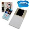 Láminas de imán adhesivas - Ejemplo de personalización y uso