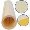 Lámina transportadora para Vinilo de rotulación bse plástico con protector - Detalle del rollo cerrado