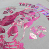 Láminas foil - Detalle camiseta personalizada