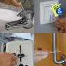 Llavero anticontacto de plástico acrílico transparente - Ejemplos de uso