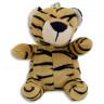 Llavero Tigre de Peluche - Frontal