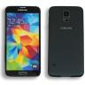 Maqueta de móvil modelo Samsung Galaxy S5 - Detalle maqueta frontal y reverso