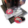 Máquina para chapas neumática - Personalizando chapas