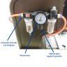 Máquina para chapas neumática - Marómetro
