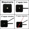Maquinaria y agujas de reloj para paneles hasta 20 mm - Detalle montaje