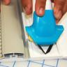 Cutter para Surco en V - uso