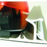 Regla de aluminio con cuchilla deslizante - Detalle lateral