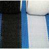 Velcro con adhesivo - Negro y Blanco
